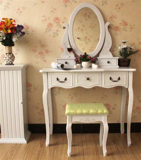 queen anne white oval mirror bedroom vanity set table queen anne white make up table dresser vanity set swivel