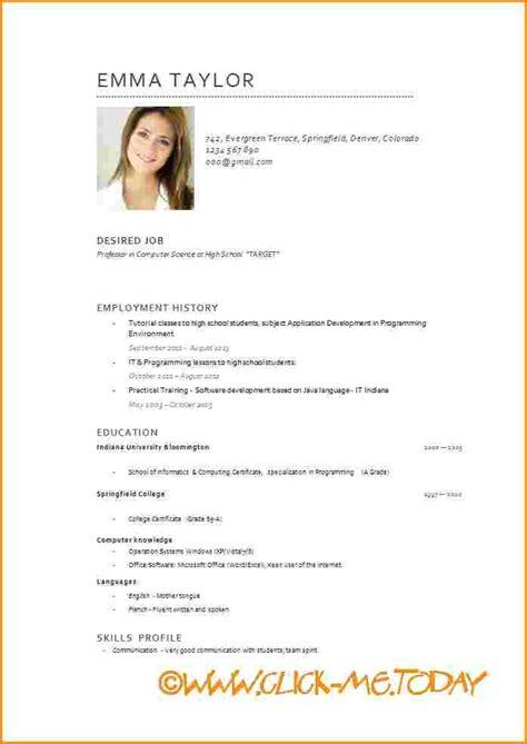 Model Curriculum Vitae Catala Word Curriculum Vitae Word Worker Resume I Started
