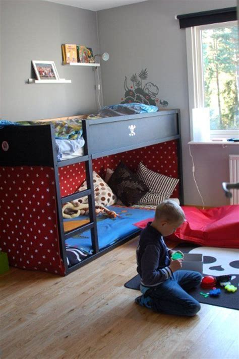 ikea boys room 45 cool ikea kura beds ideas for your kids rooms digsdigs