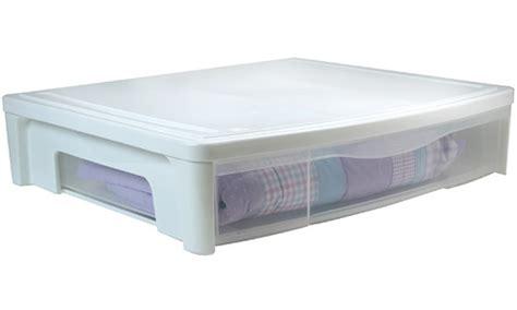 Underbed Storage Drawers Plastic plastic bed storage drawer white in storage drawers