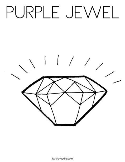 printable jewel shapes diamond shapes colouring pages jewel diamond shape