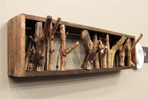 wood branches home decor cool diy coat racks steven and chris