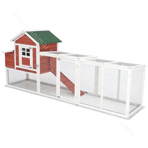 ft wire run chicken coop extension kit   chick