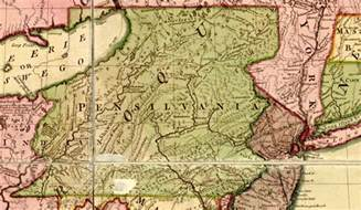 Pennsylvania Colony Map by Colonial Pennsylvania Image Search Results
