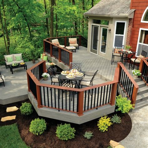 20 ground level deck designs idea design trends