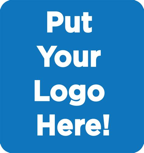 putting your put your logo here on the move