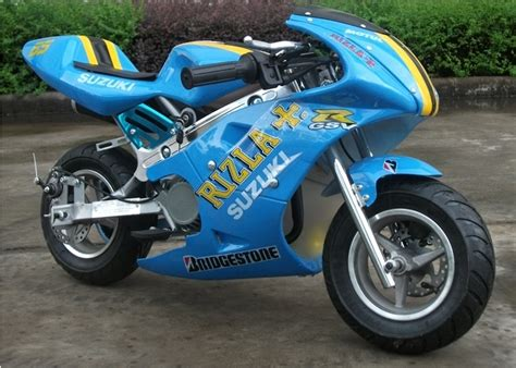 Suzuki Mini Moto Mini Moto 50cc Mini Racing Motorbike Rizla Suzuki Ebay