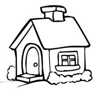 coloring pictures of a house freshcoloring printable houses coloring pages