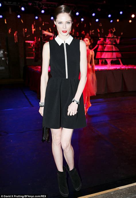 Fashion Week Fall 07 Aquascutum Second City Style Fashion by Coco Rocha Finds Time To Change During New York