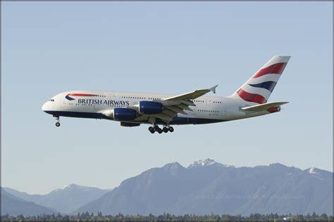 emirates yvr pin a380 british airways ba airbus big model new biggest