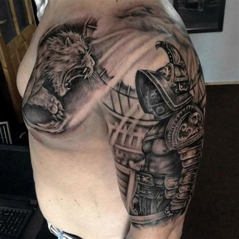 gladiator armor tattoo 50 gladiator ideas for hitheaters and