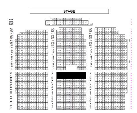 keswick theatre seating chart keswick theatre