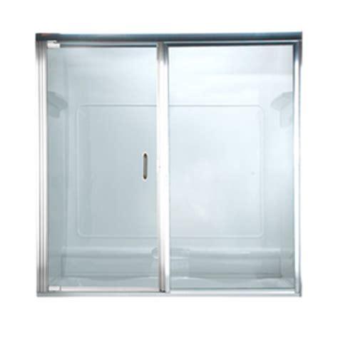 American Shower Doors Shop American Standard 43 In Frameless Pivot Shower Door At Lowes