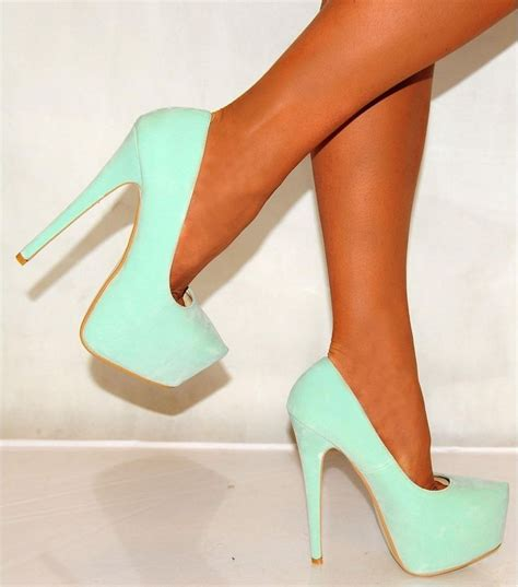 mint green high heel shoes mint green shoes shoes green