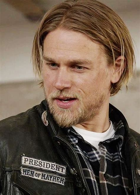 jax teller s hair his hair charlie hunnam sons of anarchy pinterest