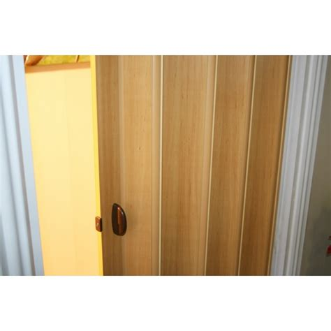 Concertina Doors Rapid Concertina Folding Door 880mm Wood Imitation