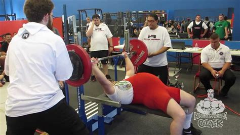 bench press record by age kyle hardy uspa masters 6 american record bench press