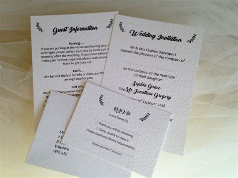 Wedding Card Invitation Uk by Wedding Invitations Wedding Stationery Affordable Prices