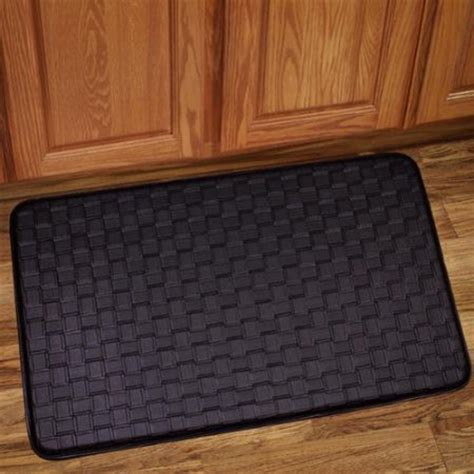 Kitchen Floor Mats Walmart Bed Bath N More Memory Foam Anti Fatigue Kitchen Floor Mat Walmart