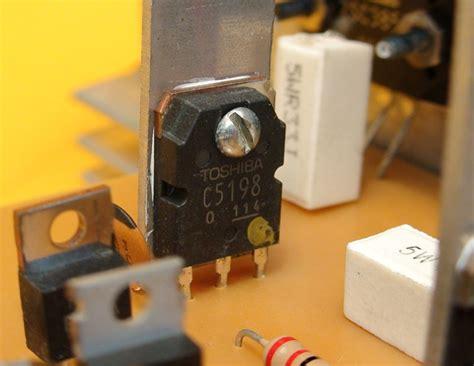 reemplazo de transistor c5198 proycetos electronicos diy construya un lificador mono de 250w