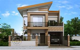 two storey small house design