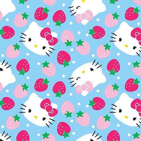 springs creative hello kitty fleece strawberry toss light
