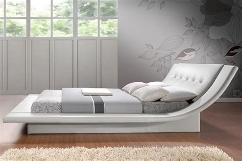 Curved Bed | calyx modern bed with curved headboard