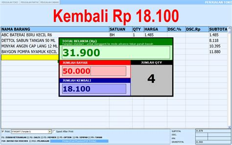 Mainan Mini Market Kasir Lengkap jual sid retail pro minimarket 2015 v6135 new update