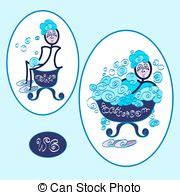 simboli bagno simboli bagno donna isolato bagno gabinetto fondo