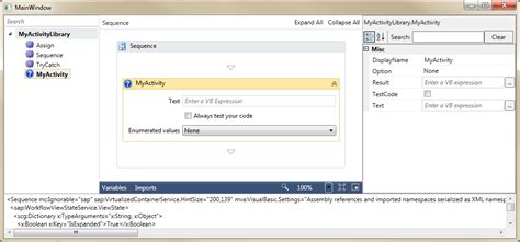 windows workflow service how to create a custom activity designer with windows