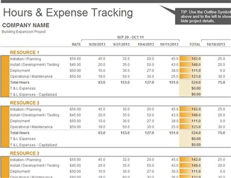 project costing template excel 5 free excel templates for project management