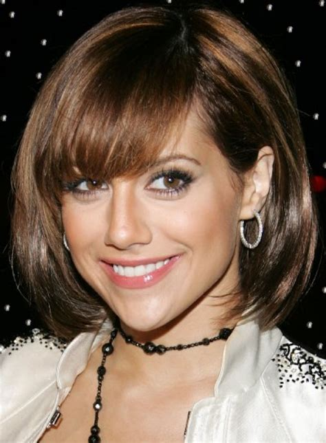 short piecey bob with bangs medium short hairstyles bob haircuts with bangs stylish