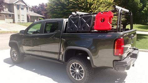 chevy colorado bed size colorado canyon bed rack active cargo system for short