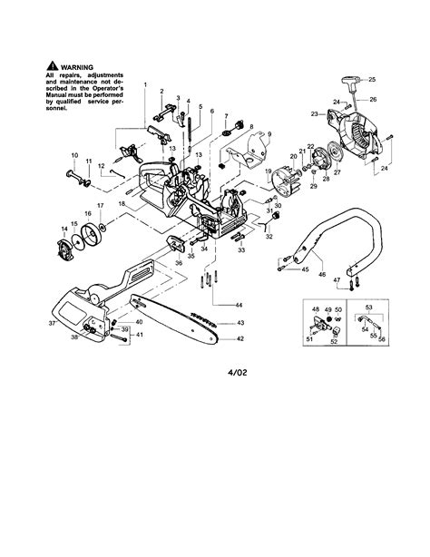 poulan pro chainsaw parts diagram poulan pro parts diagram pictures to pin on