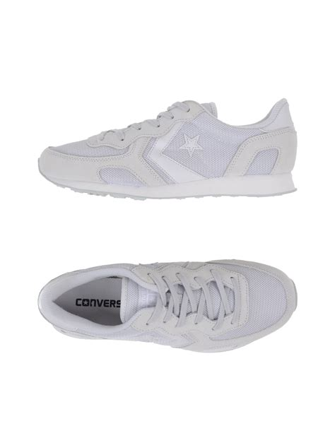 Converse Cons Low Tops Trainers In Grey Lyst