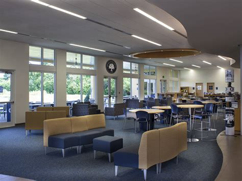 door academy stem student center interior