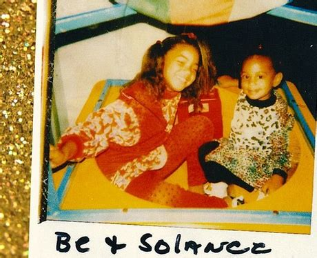 beyonce shares a cute throwback snap of her and sister