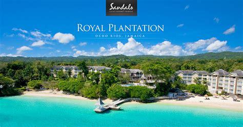 sandals plantation royal plantation all inclusive jamaican resort vacation