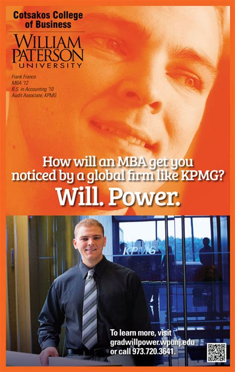 Wpunj Mba by News William Paterson