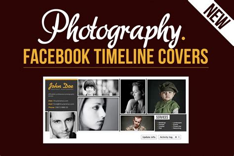 free cover photo templates for photographers bundle of photoshop actions templates dealfuel
