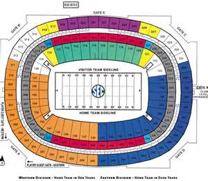 map of dome seating the sec chionship dome seating chart