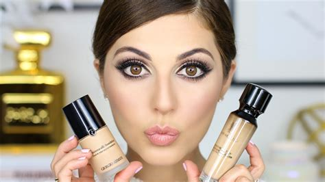 Review Foundation Makeover Foundation Review Ysl Vs Armani Simply Sona