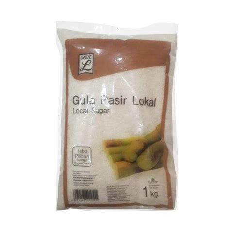 Alfamidi Gula Pasir Lokal 1kg jual save gula pasir paket 1 kg harga kualitas