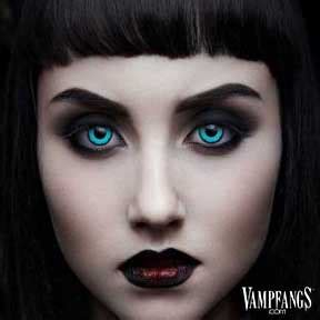 vampfangs.com: angelic blue contact lenses