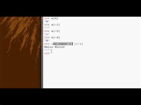 tutorial python slice python tutorial 9 indexing slicing part 1 youtube