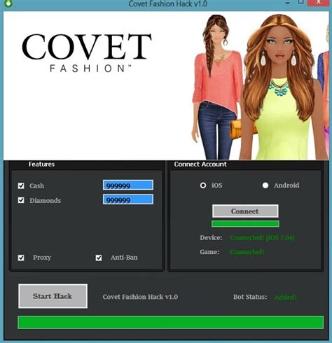 covet fashion apk covet fashion hack tool cheats engine no survey free