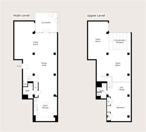 apartment loft plans