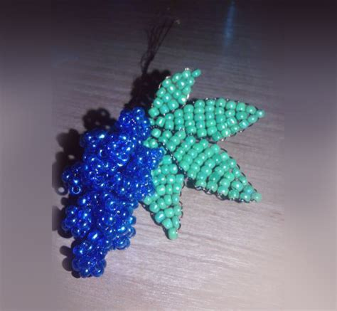 bead a free seed bead patterns bead a bunch of grapes nbeads
