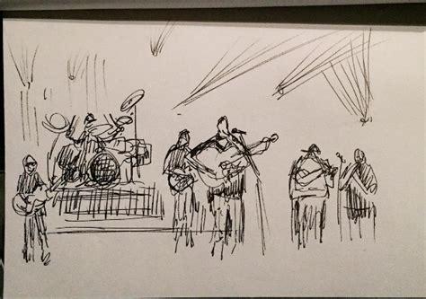 sketchbook band sketches the of alders