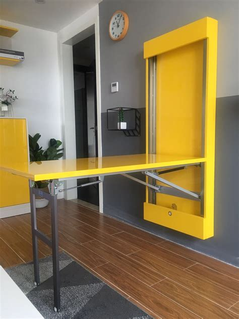 Wall mounted dining